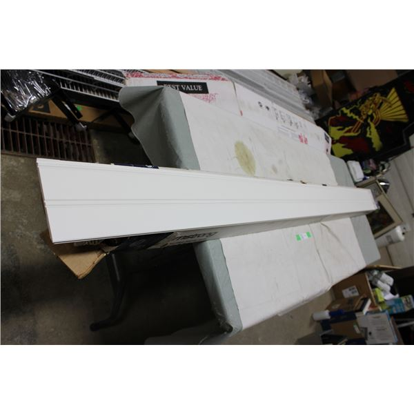 "Box of 5.5"" x 7"" White Trim Baseboard"