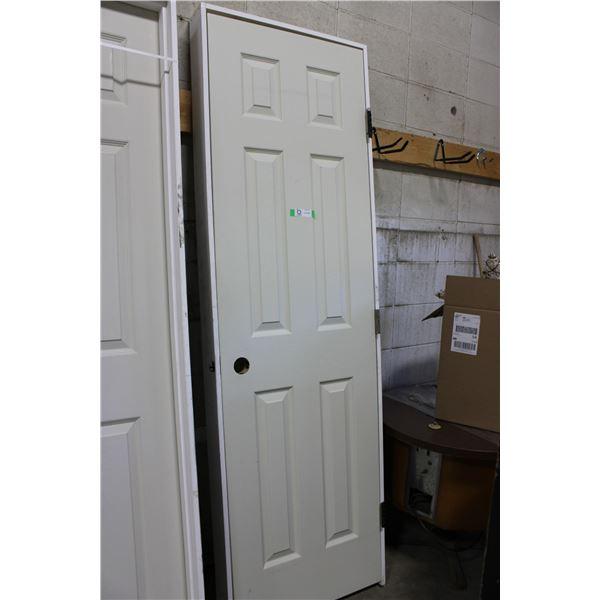 """Wooden Door and Frame: 25.5"""" x 82"""""""