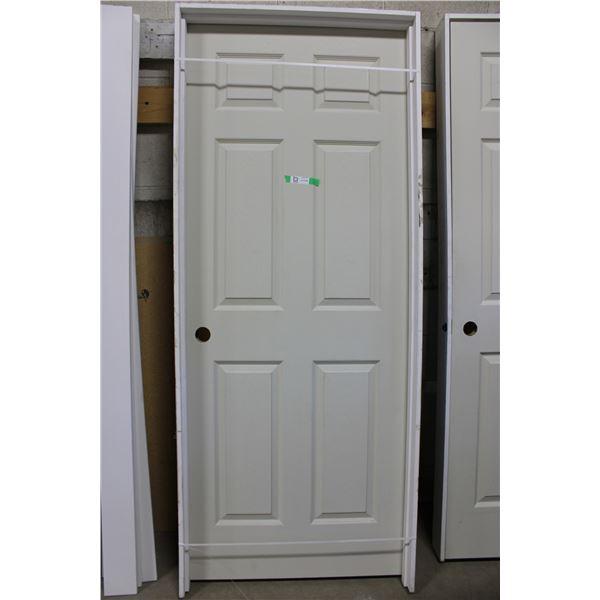 """Wooden Door and Frame: 34"""" x 82"""""""