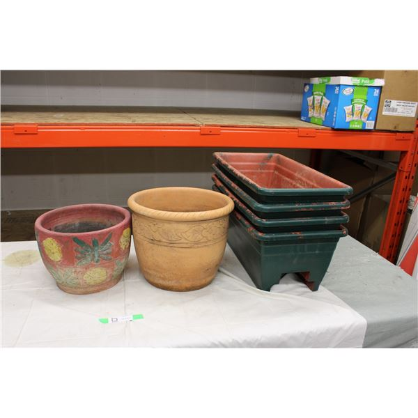 Planter Assortment