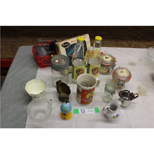 Misc. Glassware Assortment