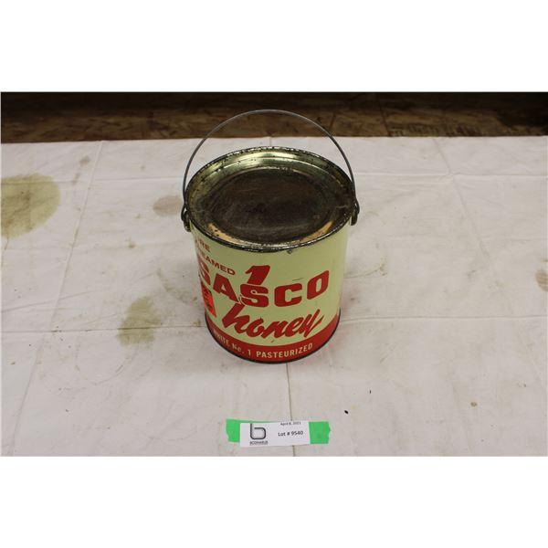 Sasco Honey Tin