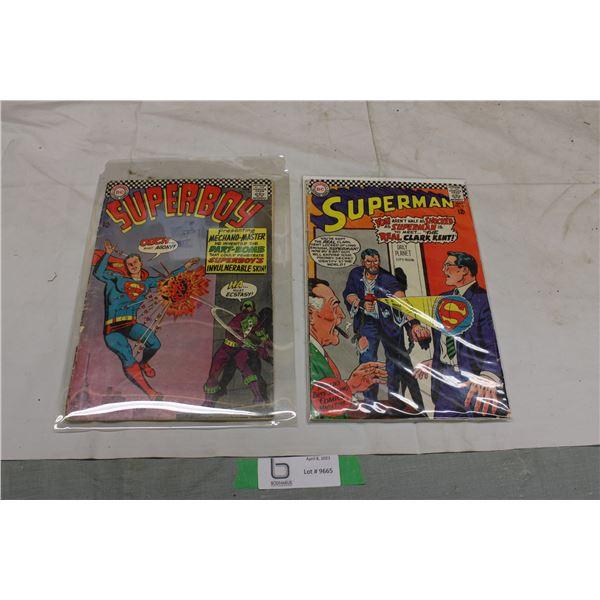 (2X THE MONEY) Super Boy and Superman Comics
