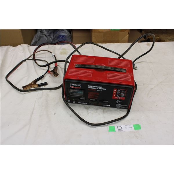 Century 12V Battery Charger (Does not appear to be working)