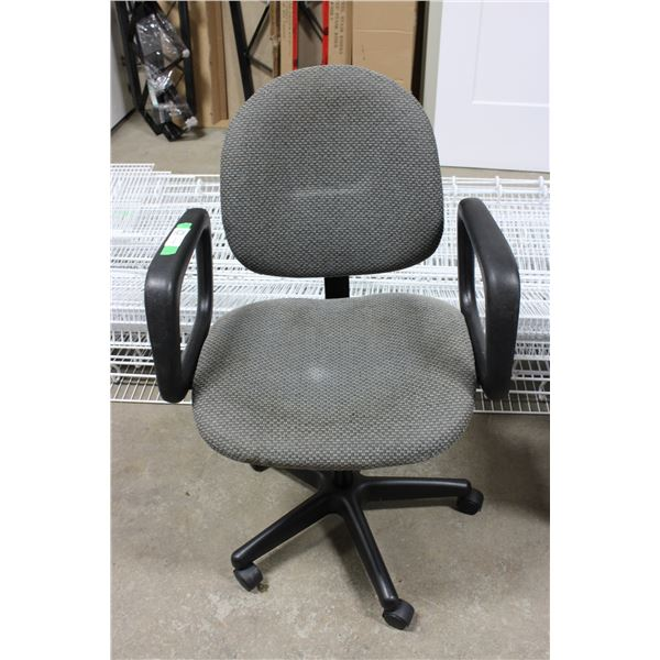 Rolling Desk Computer Chair