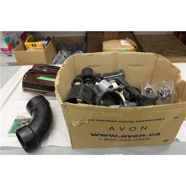 Motomaster Heater Hose Pipe and other plastic pipe fittings