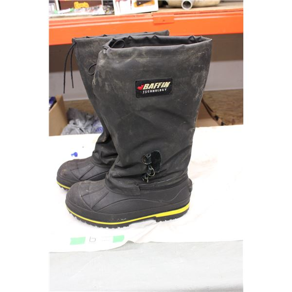 Baffin Steel Toe Boots Size ?