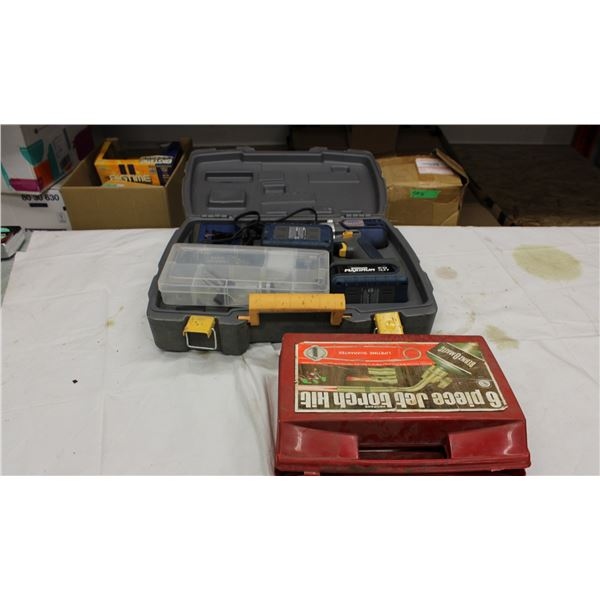 Soldering Equipment and Mastercraft Maximum Drill Set