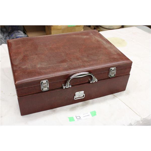 Empty Cutlery Suitcase