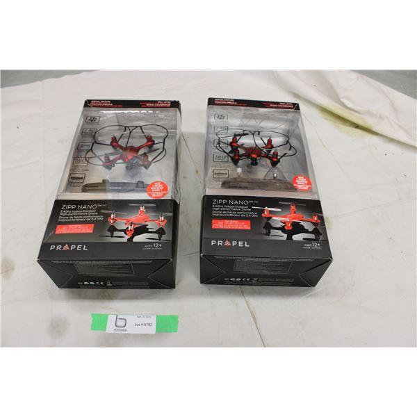 (2X THE MONEY) Zipp Nano Indoor High Performance Drone
