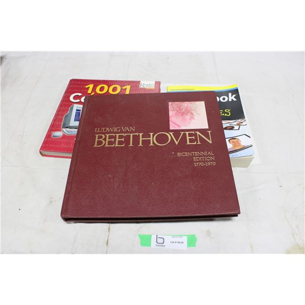 Beethoven 1970 History Book and Other Books