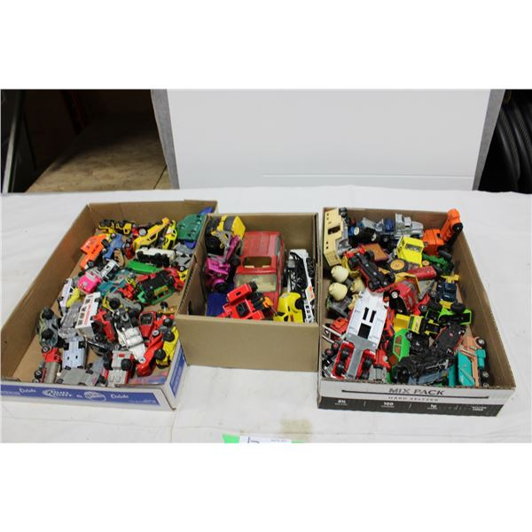 Three Boxes of Misc. Automotive Miniature Toys