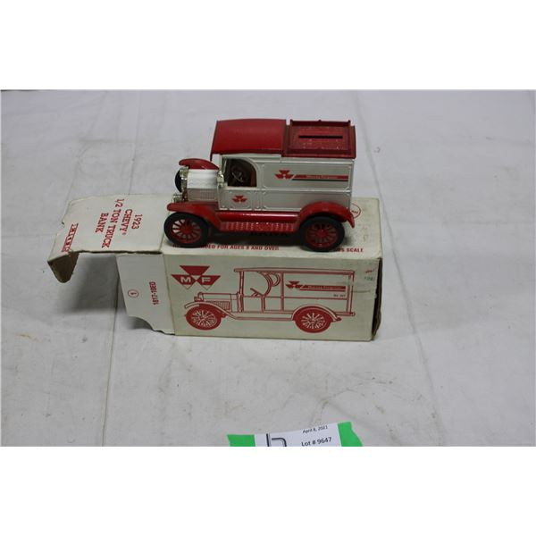 Massey-Ferguson 1923 Chevrolet Truck Bank in Box