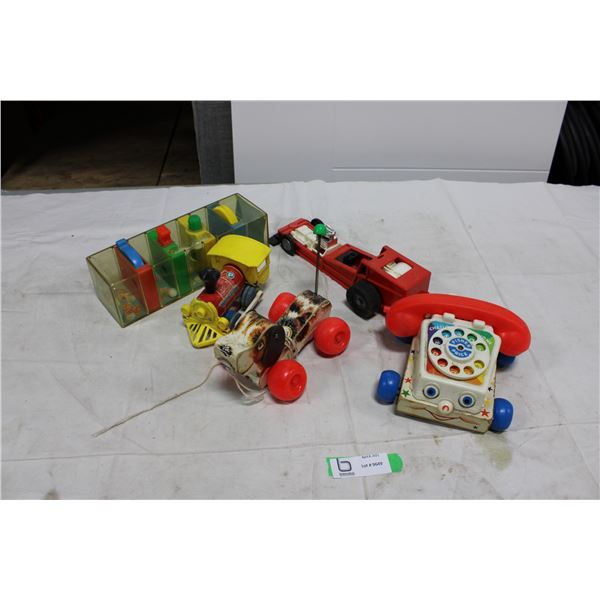 Old Fisher-Price Kid's Toys