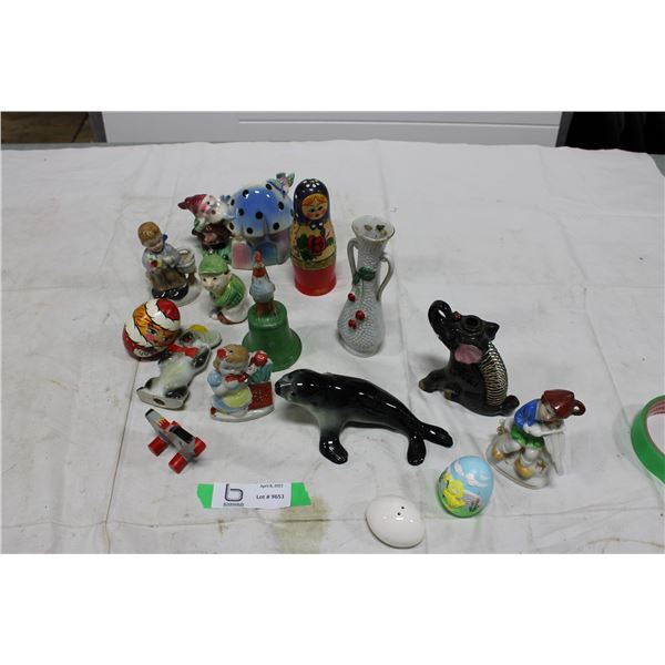 Assorted Decorative Figurines