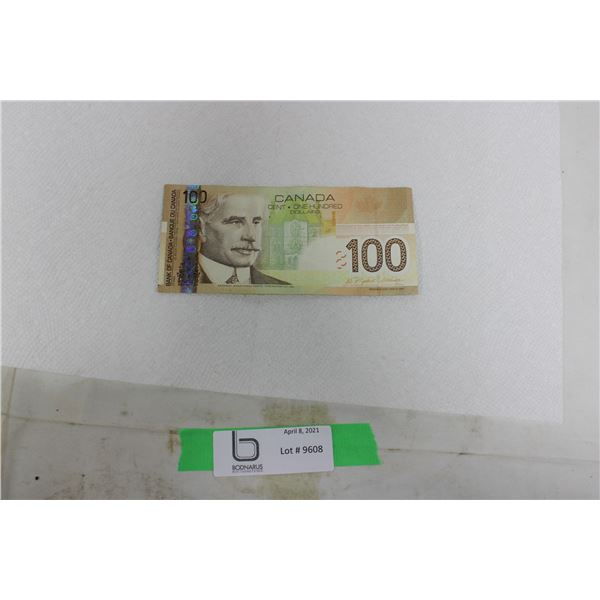 $100 Canadian Bill: 2004