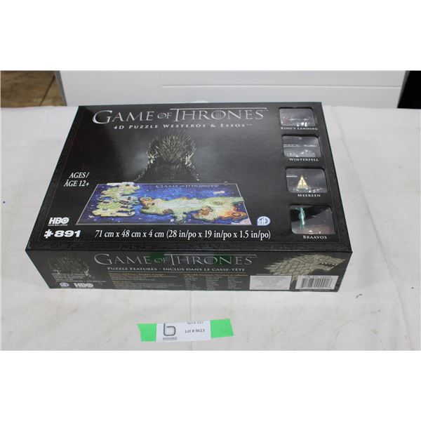 New Sealed Game of Thrones 4D Puzzle