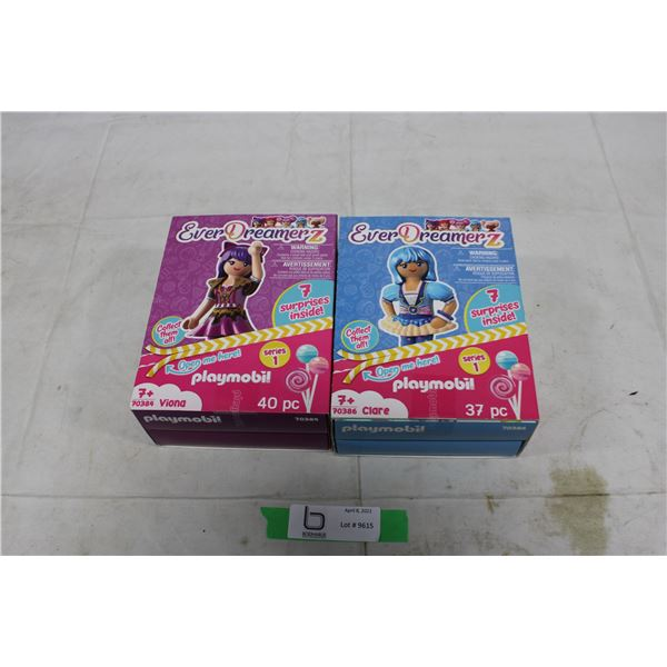"2 New, Sealed Playmobil ""Ever Dreamerz"" Girls Playsets"