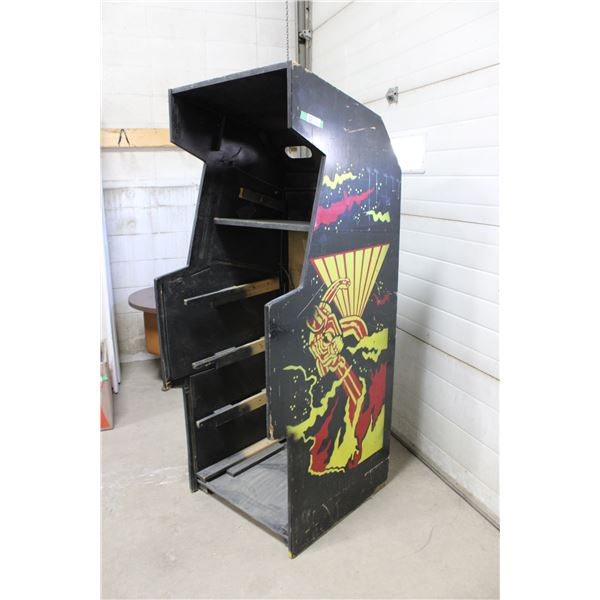 "1980 Williams ""Defender"" Arcade Cabinet Missing Front & Guts"