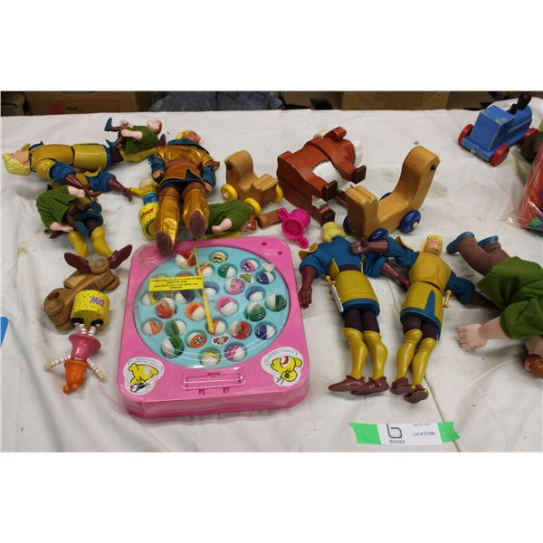 Lot of Kids Toys Action Figures