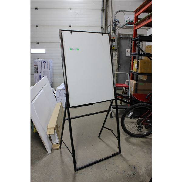 "Folding White Board 67"" high 29"" wide"