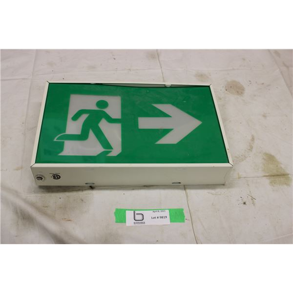 Walking Light Up Sign