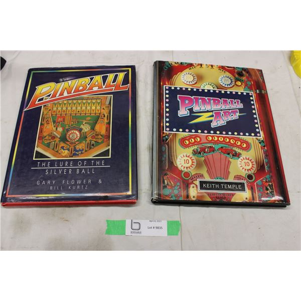 2 Pinball Collectible Books