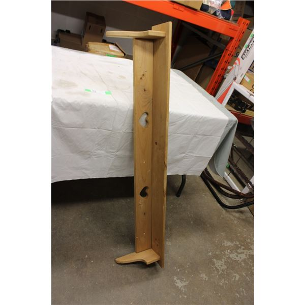 "Wooden Shelf 46"" x 9"""