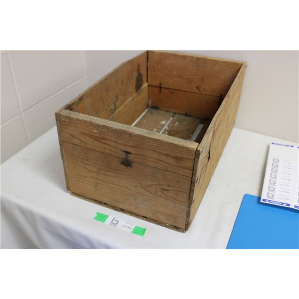 Wooden Box Fruit Crate