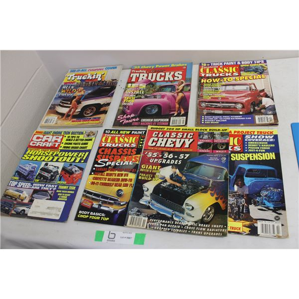 Assorted Car and Truck Magazines