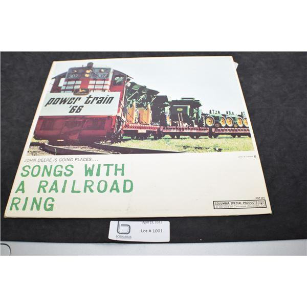 JOHN DEERE POWER TRAIN 66 RECORD