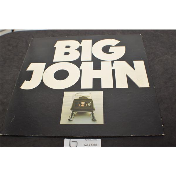 JOHN DEERE SNOWMOBILE 1974  RECORD