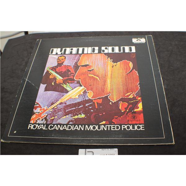 RCMP VINTAGE RECORD