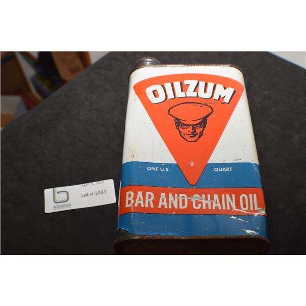 OILZUM CHAIN OIL TIN