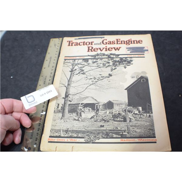 1920 TRACTOR MAGAZINE / GREAT ADS