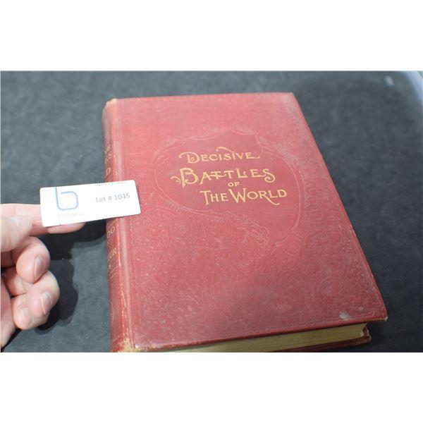 ANTIQUE 1905 WAR BOOK