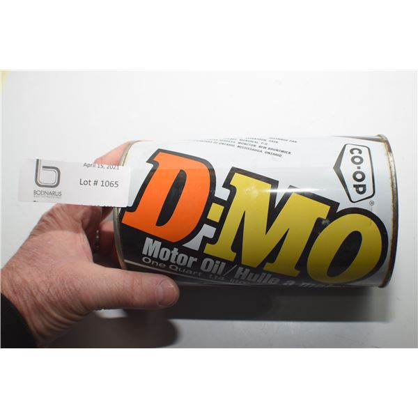 FULL CO-OP DMO OIL TIN