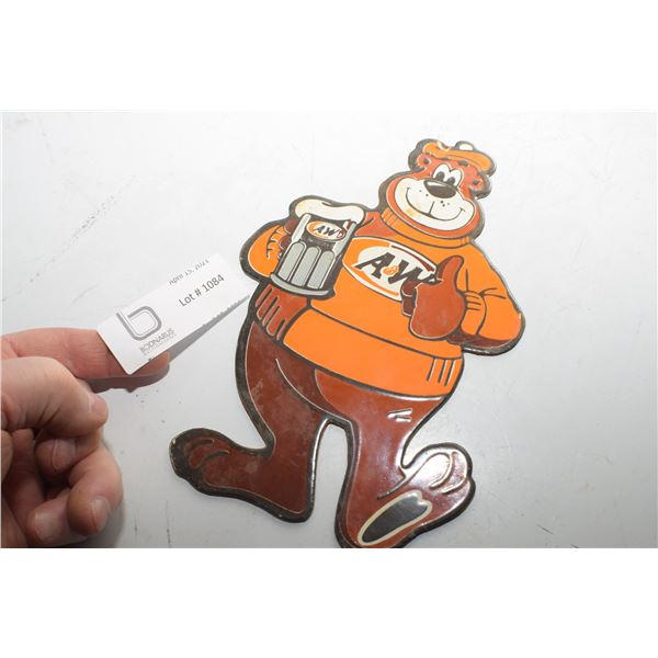 PORCELAIN SIGN / A& W ROOTBEAR