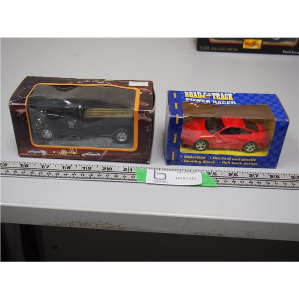 (2X THE MONEY) Road Giant Toy Truck (NIB) Truck Die Cast and Plastic Toy Car Pull Back Toy