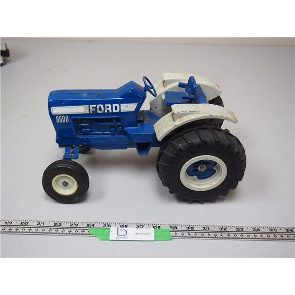 "Ertl Ford 8600 Tractor (no muffler) 12 3/4"" long"