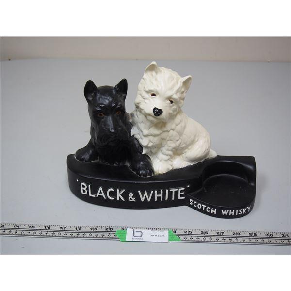 "Black & White Scotch Whiskey Display Scottie Dogs (13 3/4"" L x 9 1/2"" H) Brentleigh Ware"
