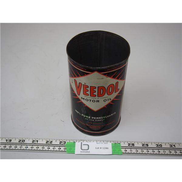 Veedol Motor Oil One Imperial Quart (no top)