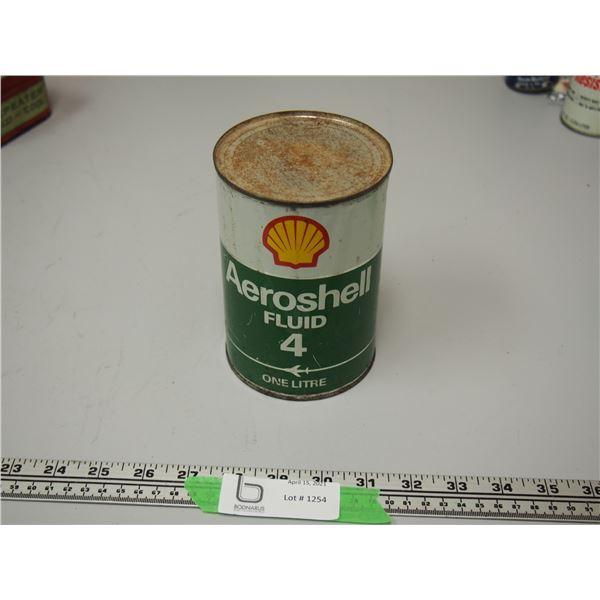 Aeroshell Fluid 4: Full One Litre Can