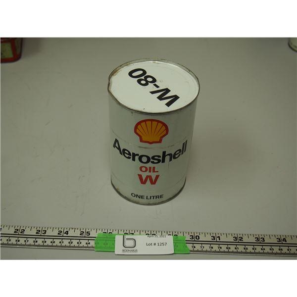 Aeroshell Oil W W80 Full Can One Litre