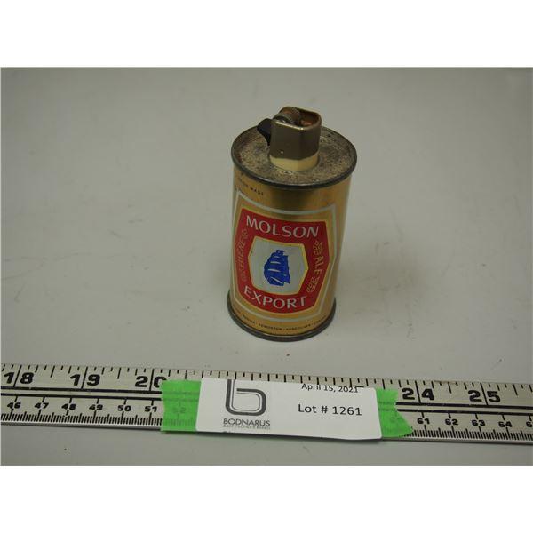 """Molson Export Lighter (3.5"""" tall)"""