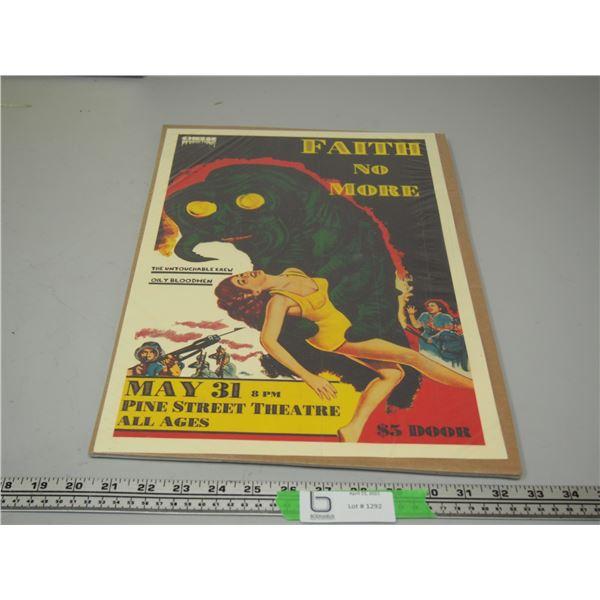 Faith No More Concert Poster