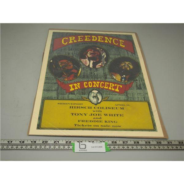 CCR April 15 Concert Poster