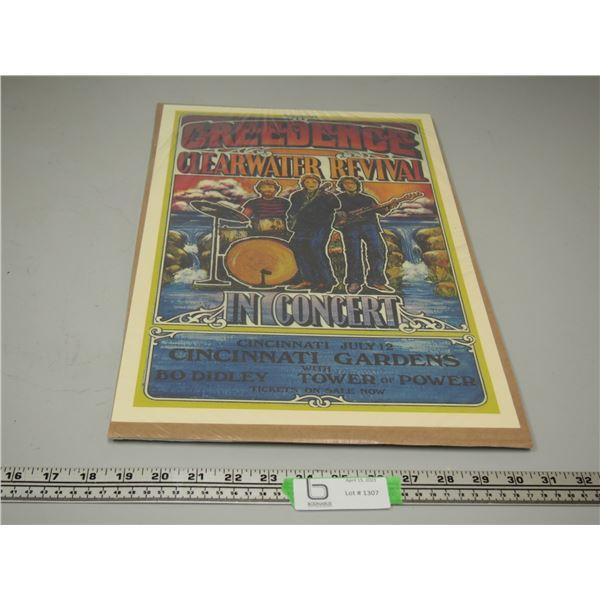CCR July 12 Concert Poster