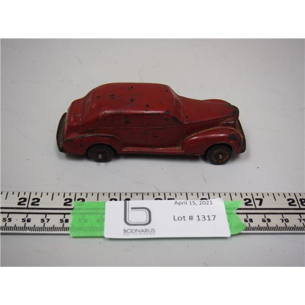 "1930? Auburn Rubber Corp. Car (rubber) 4 3/4"" long"