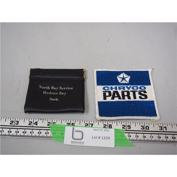 Chryco Parts Patch Plus North Bay Service Hudson Bay SK Change Purse